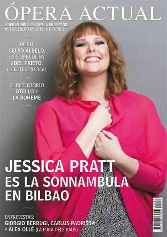 Jessica Pratt su Ópera Actual: Ópera Actual: Cover & Feature